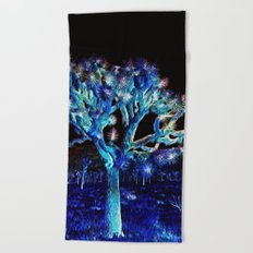 Joshua Tree VG Hues by CREYES Beach Towel