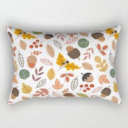 Hello Fall Pattern Rectangular Pillow