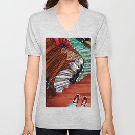 Stairs in a dream Unisex V-Neck