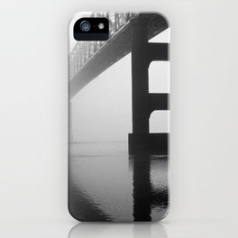 Savanna-Sabula Bridge iPhone Case
