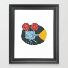 Tomato cinema Framed Art Print