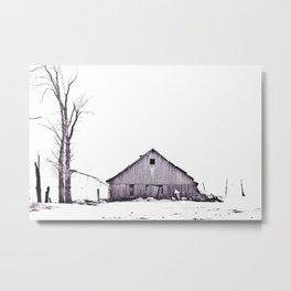 The Barn Metal Print