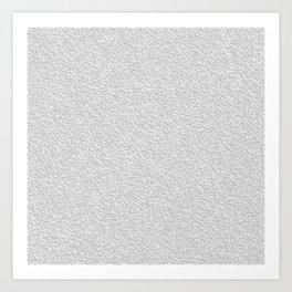 White grey stucco texture Kunstdrucke