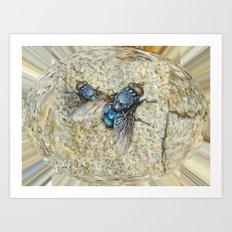Fly on my Tie Art Print