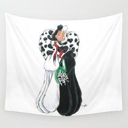Cruella de Vil Wall Tapestry