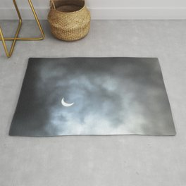 Cloudy Eclipse Rug
