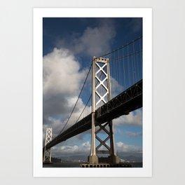 Bay Bridge in the Sun Art Print