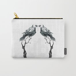 birds / oiseaux Carry-All Pouch
