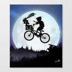 E.T Kid Canvas Print