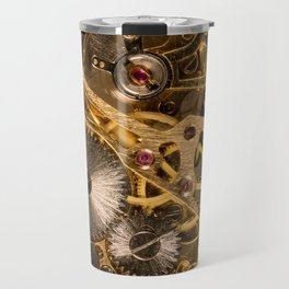 Time is passing by - antique watch Travel Mug