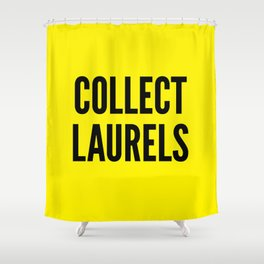 Collect Laurels Shower Curtain