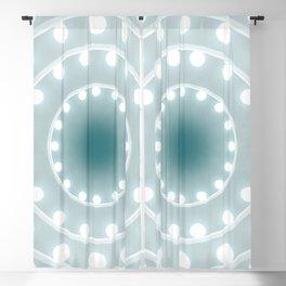 Dazzling circle lights Blackout Curtain