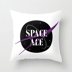 Space Ace Throw Pillow