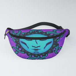 Sublime Moon Tapestry #1 Fanny Pack