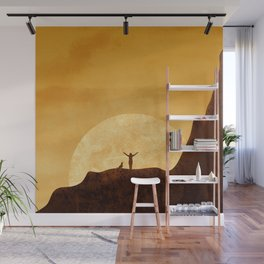 Dreaming sunset Wall Mural