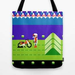 Punctured Bike Tote Bag
