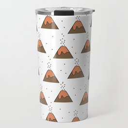 Volcano Pattern #1 Travel Mug