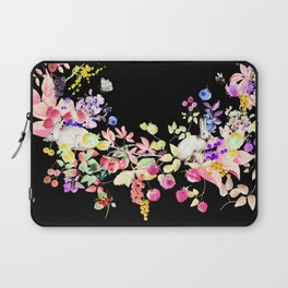 Soft Bunnies black Laptop Sleeve