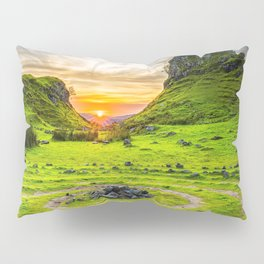 Fairytale Landscape, Isle of Skye, Scotland Pillow Sham