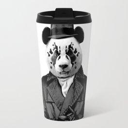 Rorschach Panda Travel Mug