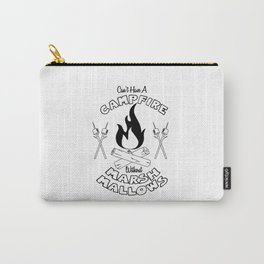 Marshmallows on a Campfire Carry-All Pouch