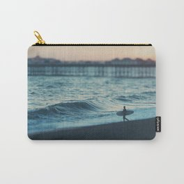 the lone surfer ... Carry-All Pouch