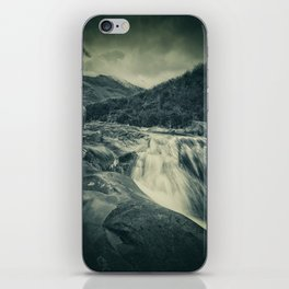 The River in the Mountains iPhone Skin