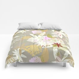 Lovely Lupins Seamless Repeating Pattern Comforters