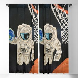 Space Games Blackout Curtain