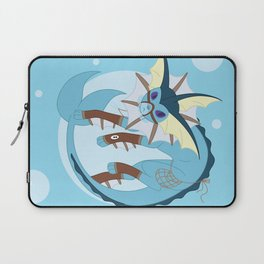 Water Steampunk Fox Laptop Sleeve