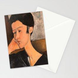 """Amedeo Modigliani """"Hanka Zborowski"""" Stationery Cards"""