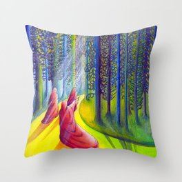The Way of Hope Throw Pillow