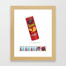 Mec Pringles! Framed Art Print