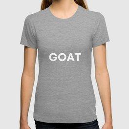 goat w T-shirt