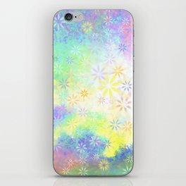 Sunny garden iPhone Skin