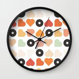 Music : Love Wall Clock