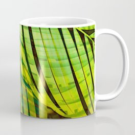 TROPICAL GREENERY LEAVES no1 Coffee Mug