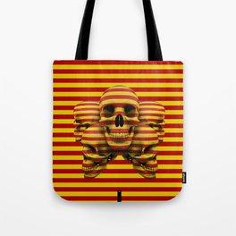 Skulls pop Tote Bag