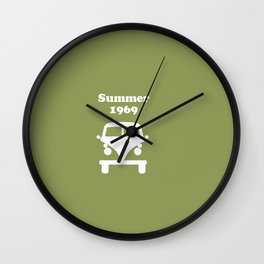 Summer 1969 - Green Wall Clock