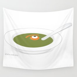 eye's soup Wall Tapestry