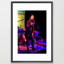 Kawehi Sings 2 Framed Art Print