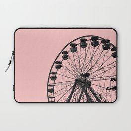 Ferris Wheel (Pink) Laptop Sleeve