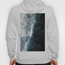 Oceanscape - White and Blue Hoody
