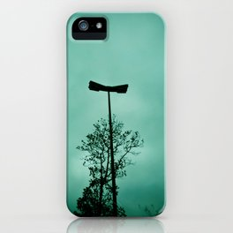 Pole without light iPhone Case