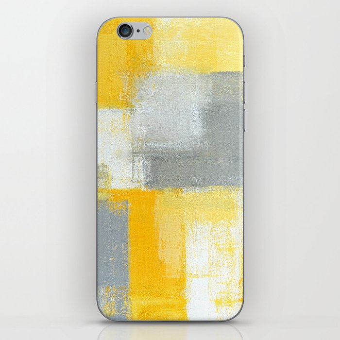 Yellow Sneaky Skin iphone case