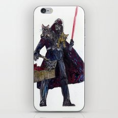 Cat Dad Vader iPhone & iPod Skin
