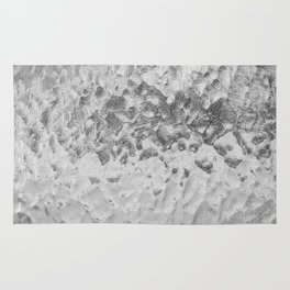 Clear Water (Black and White) Rug