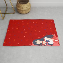 Soldier of Flame and Passion Rug