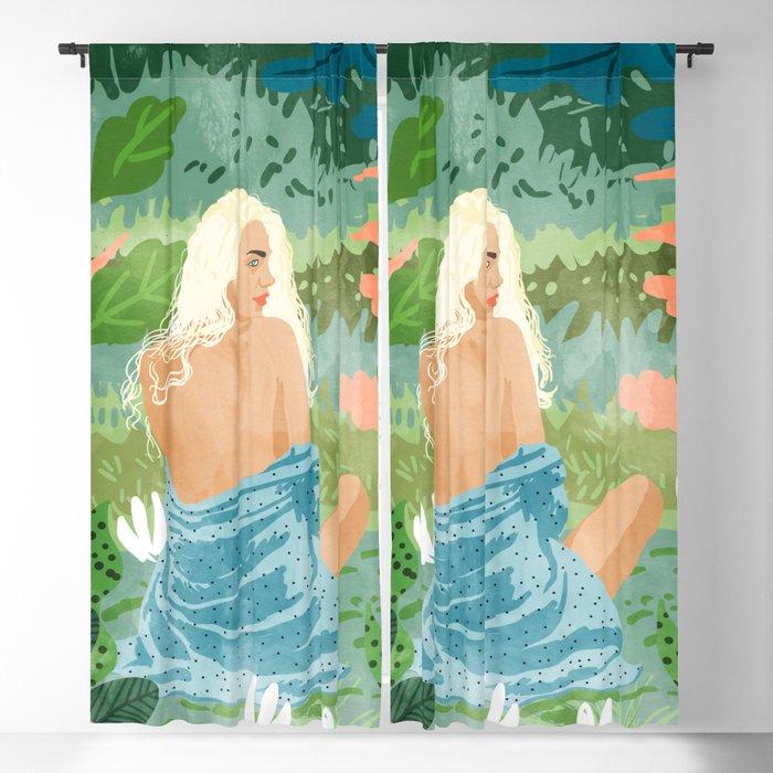 Jungle Vibes Blackout Curtain