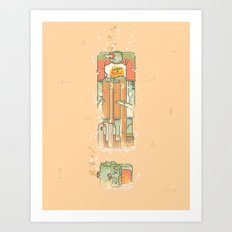 Cannonball Art Print